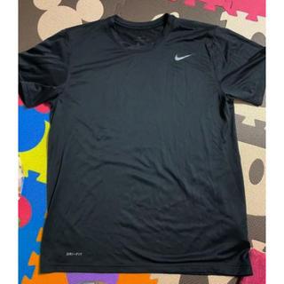 NIKE - 超美品 NIKE RUN ドライフィット Tシャツ 黒 XL ランニング ナイキ