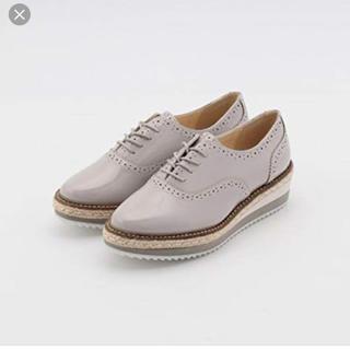 アンレリッシュ(UNRELISH)のUNRELISH 19SS ウエッジオックスフォード(ローファー/革靴)
