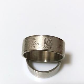 同時購入で300円 ステンレス指輪マリア シルバー(リング(指輪))