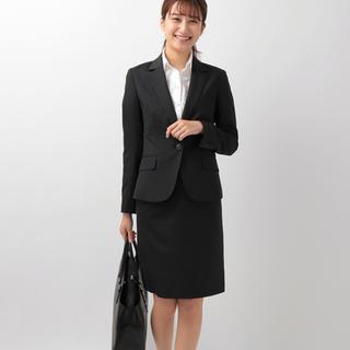 スーツカンパニー(THE SUIT COMPANY)のスーツカンパニー  スカート 黒 新品!(スーツ)