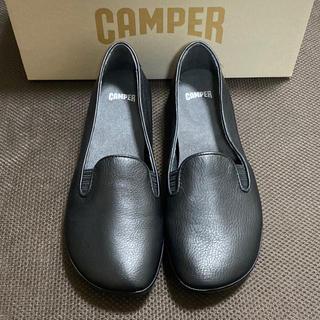 カンペール(CAMPER)の新品 Camper Right Nina カンペール フラットシューズ ブラック(スリッポン/モカシン)