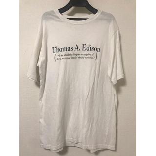 ネクスト(NEXT)のTシャツUNISEX早い者勝ち新品同様美品ホワイト白T(Tシャツ/カットソー(半袖/袖なし))