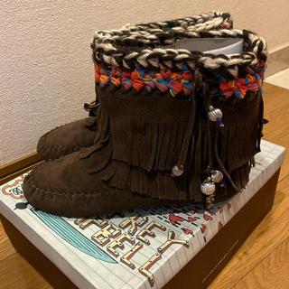 ジェフリーキャンベル(JEFFREY CAMPBELL)のジェフリーキャンベル ショートブーツ 美品 24cm (ブーツ)