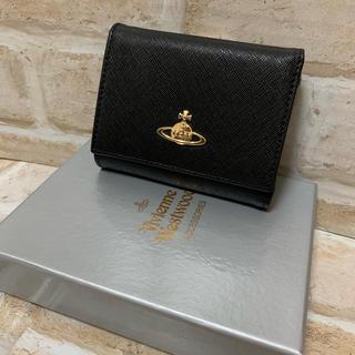 ヴィヴィアンウエストウッド(Vivienne Westwood)の106 ☆ ヴィヴィアン レディース  がま口財布 ブラック(財布)