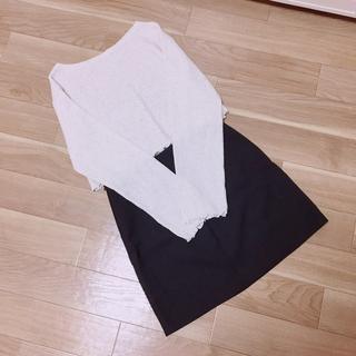 ディーホリック(dholic)のchuu ♡ セット売り ショート丈ニット&タイトスカート(セット/コーデ)
