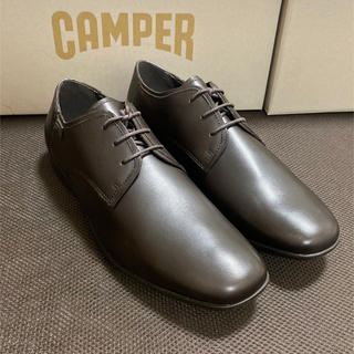 カンペール(CAMPER)の新品 カンペール 革靴 ダークブラウン Camper Mauro 39(ドレス/ビジネス)