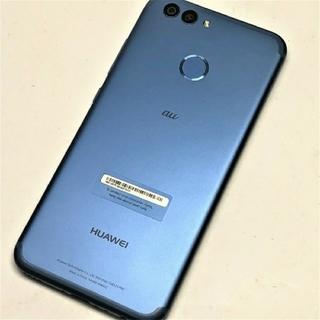 エーユー(au)のau HUAWEI nova2 割れなし ファーウェイ 美品 RAM4G(スマートフォン本体)