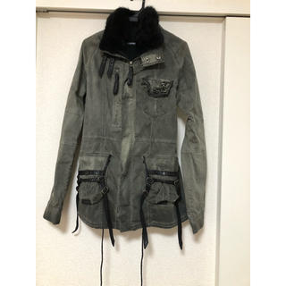 ルグランブルー(LGB)のkmriiケムリ ウールM65ジャケットコート(ミリタリージャケット)