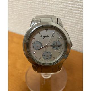 アニエスベー(agnes b.)の【良品】agnes.b アニエスベー ダイバー クロノグラフ 時計 ウォッチ(腕時計)