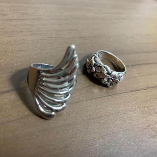 ベルシュカ(Bershka)のシルバー リング ハワジュ(リング(指輪))