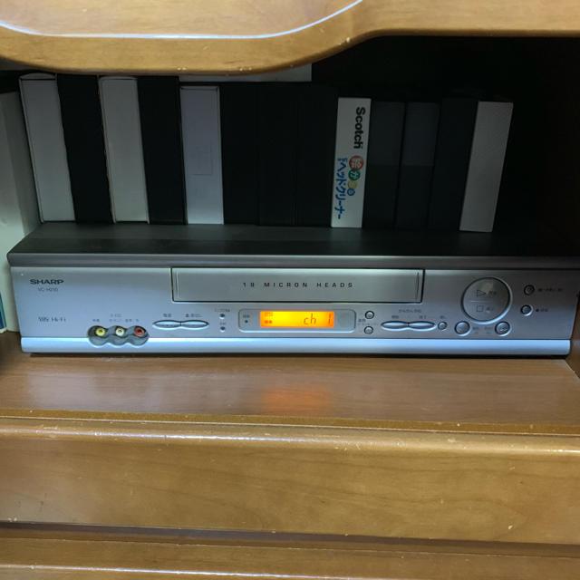 SHARP(シャープ)のSHARP ビデオデッキ VC-H210 スマホ/家電/カメラのテレビ/映像機器(その他)の商品写真