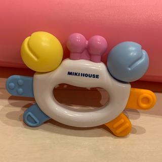 ミキハウス(mikihouse)のミキハウス クラブ 歯固め ラトル(がらがら/ラトル)