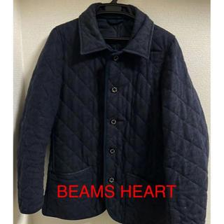 ビームス(BEAMS)のBEAMS HEART メンズコート ネイビー Lサイズ(ピーコート)
