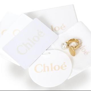 アパルトモンドゥーズィエムクラス(L'Appartement DEUXIEME CLASSE)のクロエ パール ダブルフィンガーリング Darcey ring(リング(指輪))