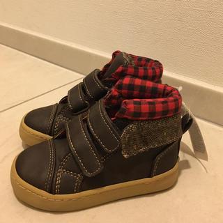 ギャップ(GAP)のbaby GAP 靴 スニーカー⚫︎ブーツ 【新品】(スニーカー)