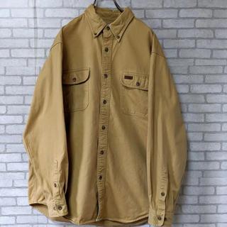 カーハート(carhartt)のカーハート  carhartt シャツ 古着(ポロシャツ)