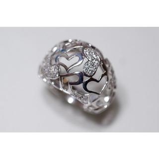 K18 WG DUNOA デュノア Love Ball ダイヤモンド 0.40(リング(指輪))