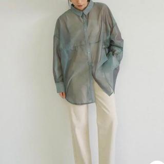 select MOCA シースルービックシルエットシャツ(シャツ/ブラウス(長袖/七分))