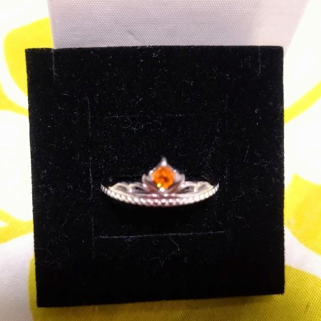 スペサルタイトガーネット シルバーリング レディースのアクセサリー(リング(指輪))の商品写真
