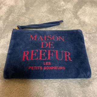 メゾンドリーファー(Maison de Reefur)の11/17までの掲載 メゾンドリーファー ベロア ポーチ(ポーチ)