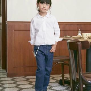 Seraph - 美品☆オトナト 白 刺繍 ドルマンシャツ ブラウス 120