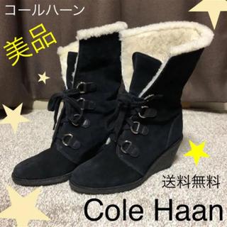 Cole Haan - コールハーン【ムートンブーツ】 レディース ブーツ ナイキ コラボ