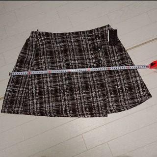 (お値下げ中) 新品 大きいサイズ スカート 4L(ミニスカート)