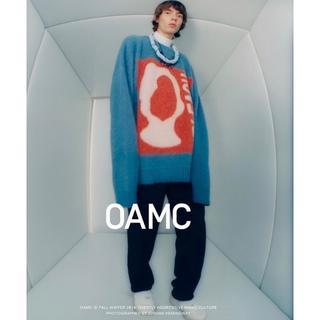 oamc bleach 19aw wool alpaca(ニット/セーター)