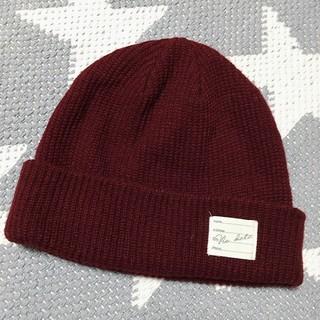 WEGO - 【WEGO】フリーサイズ ニット帽 レッド【試着のみ】