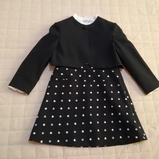 ミキハウス(mikihouse)のミキハウス吊りスカート、ポレロ、ブラウス3点セット試験、入学、発表(ドレス/フォーマル)