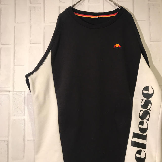 ellesse(エレッセ)のエレッセ スウェット ラグラン ビックロゴ ワンポイントロゴ メンズのトップス(スウェット)の商品写真