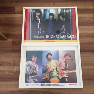 ユニゾンスクエアガーデン(UNISON SQUARE GARDEN)のユニゾン ポスター5点セット(ミュージシャン)