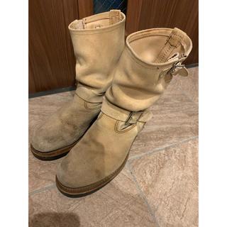 レッドウィング(REDWING)のレッドウィング REDWING 8268 ブーツ ベージュ US8 26cm(ブーツ)