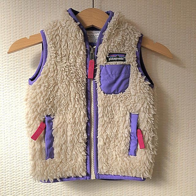 patagonia(パタゴニア)のPatagonia レトロX ベビーベスト キッズ/ベビー/マタニティのベビー服(~85cm)(ジャケット/コート)の商品写真