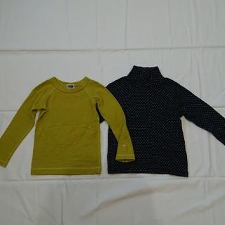 エフオーキッズ(F.O.KIDS)のFOキッズユニクロ100㎝長袖Tシャツ二枚セット(Tシャツ/カットソー)