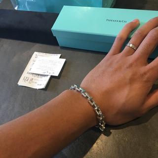 Tiffany & Co. - ティファニー Tチェーン ブレスレット Lサイズ 登坂広臣 岩田剛典 他多数着用