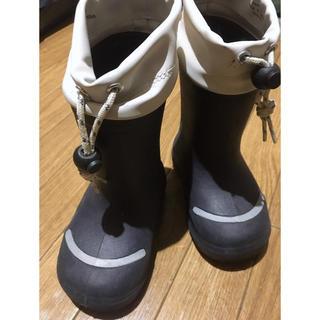 ムジルシリョウヒン(MUJI (無印良品))の無印良品 レインシューズ 14-15センチ(長靴/レインシューズ)