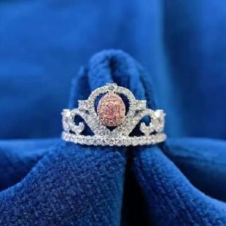 新作♡ミニティアラF.L.Pinkダイヤモンドリング(リング(指輪))