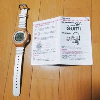 スキューバプロ(SCUBAPRO)のダイブコンピューター scuba pro 動作確認済 取扱説明書付 時計(マリン/スイミング)