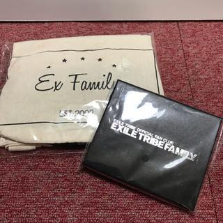 エグザイル トライブ(EXILE TRIBE)のEXILE TRIBE FAMILY 継続特典 2点セット(その他)