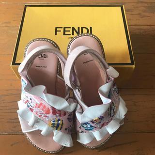 FENDI - FENDI♡キッズサンダル