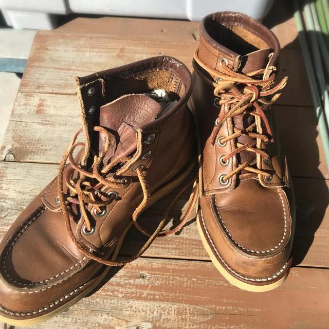 REDWING(レッドウィング)のRedwing 875  5 1/2E  レディースの靴/シューズ(ブーツ)の商品写真