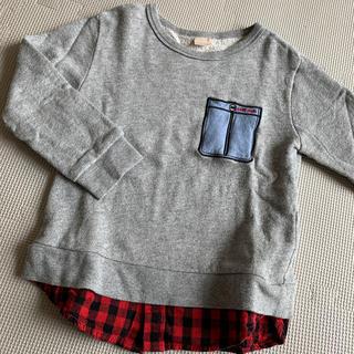 プティマイン(petit main)のプティマイン  110 レイヤード風 トレーナー ZARA kids(Tシャツ/カットソー)
