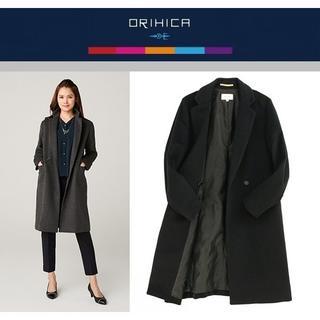 オリヒカ(ORIHICA)の今季新品 M/ORIHICA RHYME チェスターコート718800ネイビー(ロングコート)