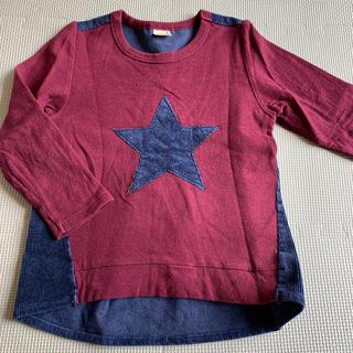 プティマイン(petit main)のプティマイン 110 星柄トレーナー エフオー ZARA kids(Tシャツ/カットソー)
