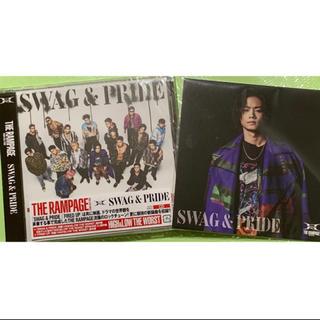 ザランページ(THE RAMPAGE)のTHE RAMPAGE「SWAG&PRIDE」CD 川村壱馬アザージャケット付き(ポップス/ロック(邦楽))