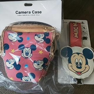 Disney - ディズニー ミッキー 一眼レフ カメラケース&カメラストラップ