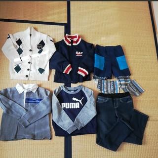 コムサイズム(COMME CA ISM)の110〜120 まとめ売り 男の子 コムサ、プーマ、GAPなど(その他)