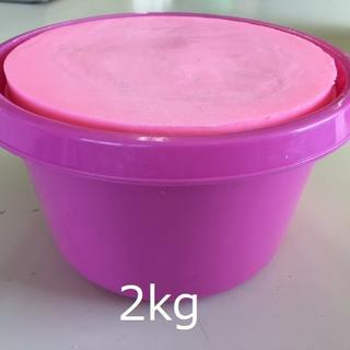 バケツ石鹸 2kg 【ピンク】(メンテナンス用品)