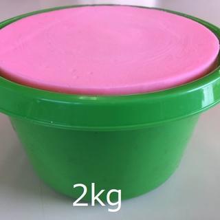 バケツ石鹸 2kg 【グリーン】(洗車・リペア用品)